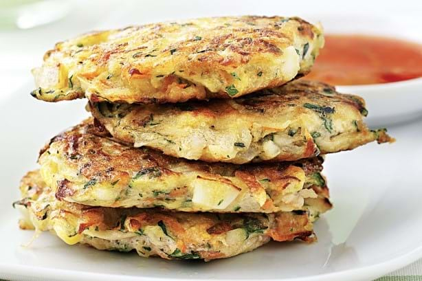 Thai No Name Vegetable Fritters