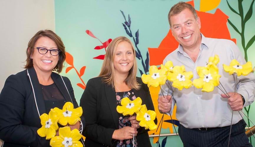 Channel Islands Co-operative Society supports Jersey Hospice's Planted With Love