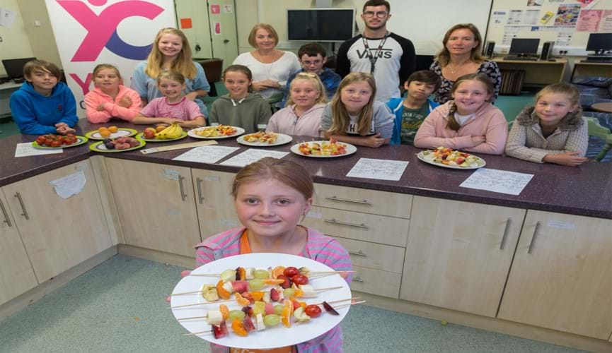 Supporting healthy eating at Guernsey Youth Commission Playscheme