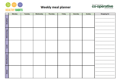 meal planner channel islands co operative