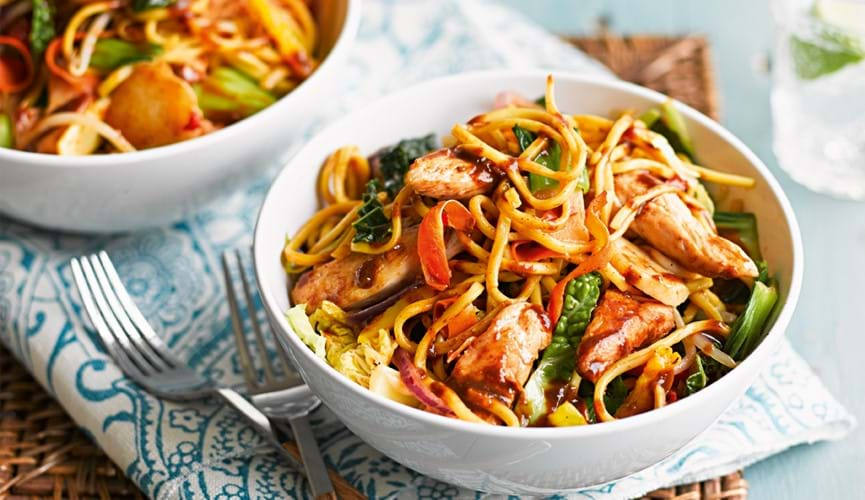 Chicken stir fry