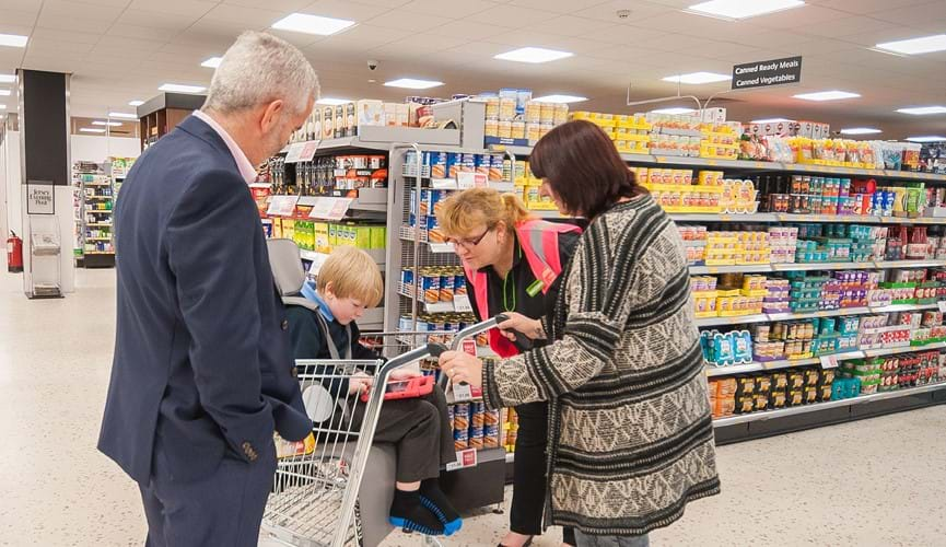 New shopping trolleys for children with special needs arrive in Jersey