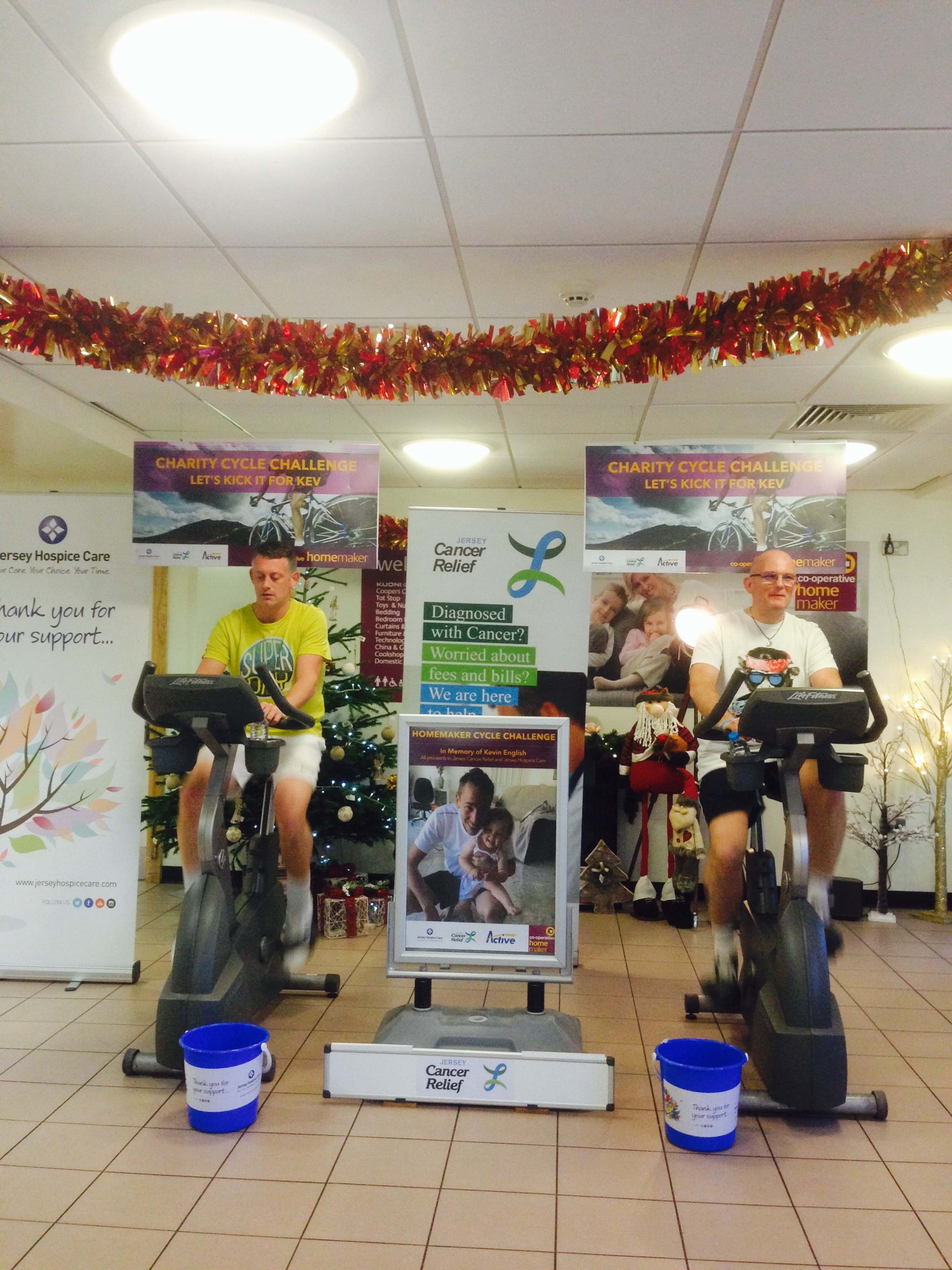 Cyclists raise nearly £3,000 for charity in memory of colleague