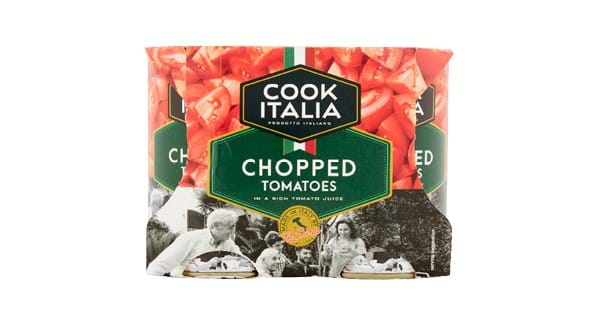 HALF PRICE | Cook Italian Chopped Tomatoes 4 x 400g