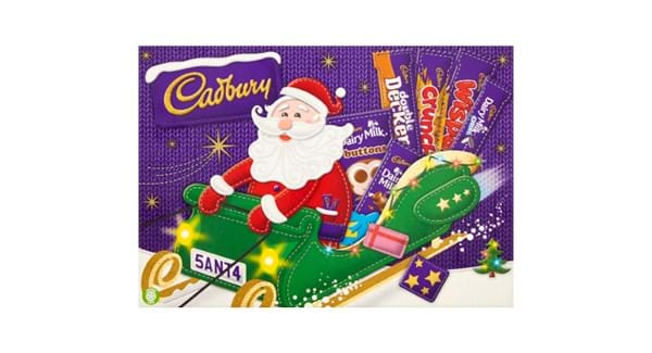 HALF PRICE | Cadbury Medium Santa Selection 169g