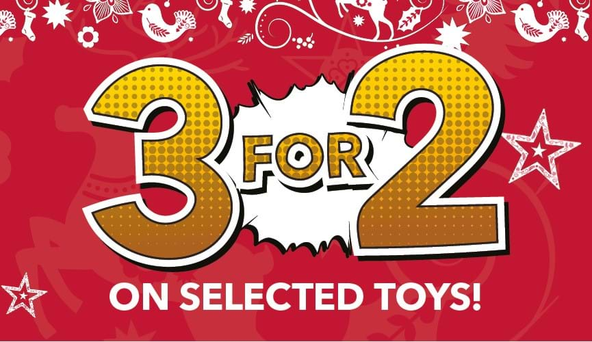 Toys 3 for 2