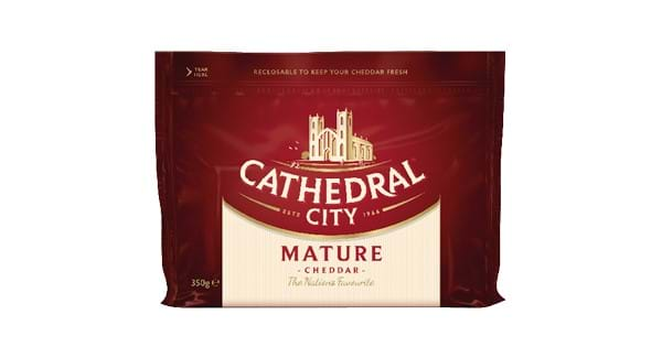 GREAT VALUE | Cathedral City Mature Cheddar / Lighter 350g