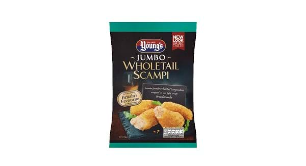 HALF PRICE | Young's Jumbo Whole Tail Scampi 220g