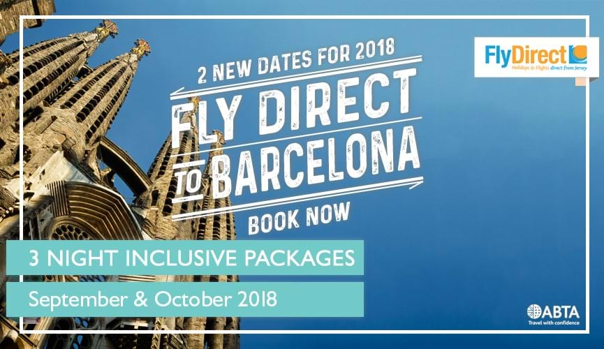 Direct Flights to Barcelona 2018