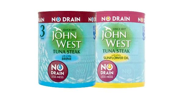GREAT VALUE | John West No Drain Tuna Steak 3 x 120g