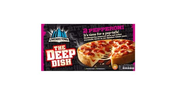 HALF PRICE | Chicago Town Deep Dish Pizza