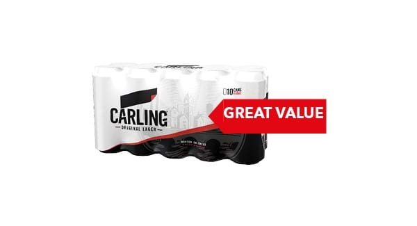 GREAT VALUE | Fosters/Carlsberg /Carling /Smiths/Guinness