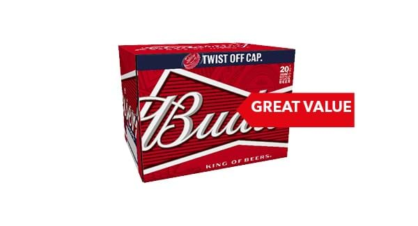 GREAT VALUE | Budweiser Lager 20 x 300ml