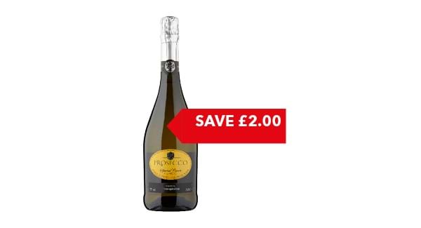 SAVE £2 | Co-op Prosecco 75cl