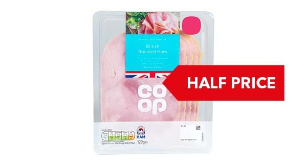 GREAT VALUE | Co-op Ham 200g