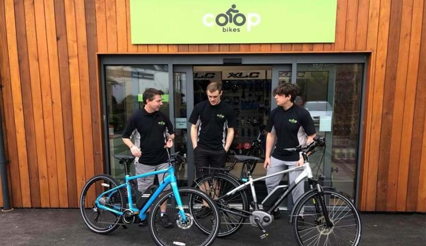Co-op Bikes a Workers Co-operative Business