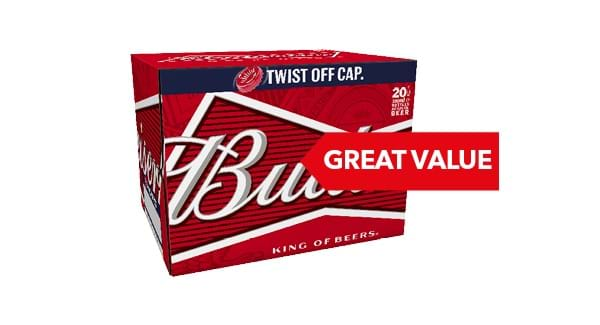 GREAT VALUE | Budweiser 20 x 300ml