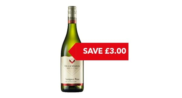 SAVE £3 | Villa Maria New Zealand Sauvignon Blanc 75cl