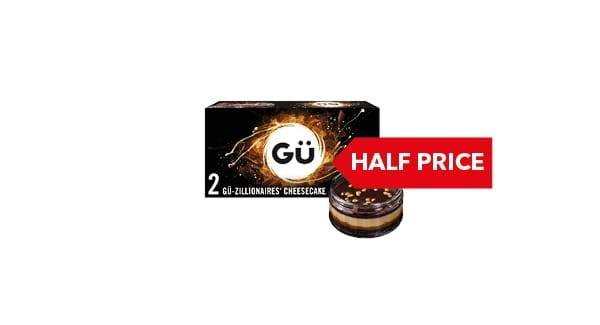 HALF PRICE | Gü Zillionaires'/ Lemon Cheesecakes