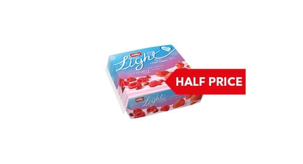HALF PRICE | Müllerlight Yogurts