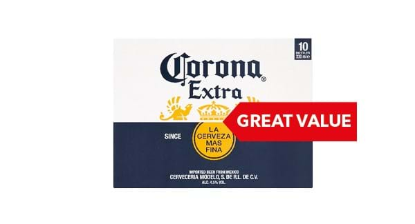 GREAT VALUE | Corona Extra 10 x 330ml