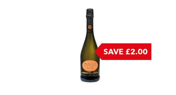SAVE £2 | Co-op  Irresistible Prosecco 75cl