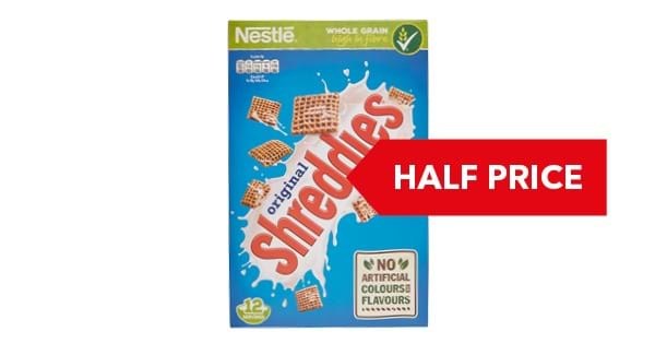 HALF PRICE | Nestlé Shreddies 415g