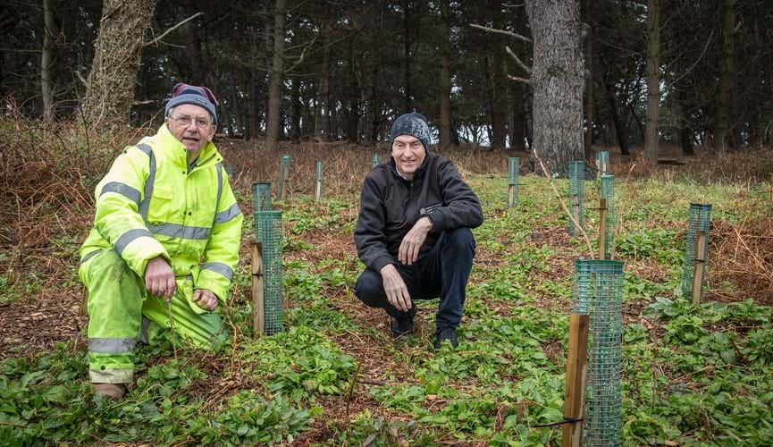 The Channel Islands Co-operative Society donates over £17,000 to local environmental projects