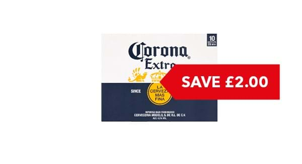 SAVE £2 | Corona Extra 10 x 330ml