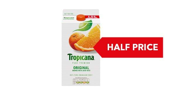Tropicana Pure Premium Orange 1.5 Litre