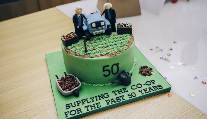 The Le Gresley's celebration cake, by Ceri's Cakes