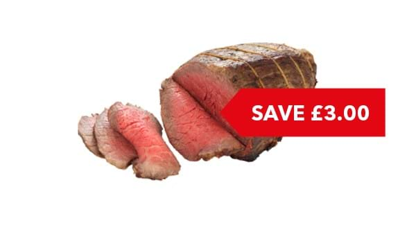 SAVE £3 | Co-op Irresistible Beef Joint Per Kg
