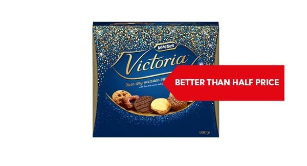 BETTER THAN HALF PRICE | McVitie's Victoria Biscuits 600g