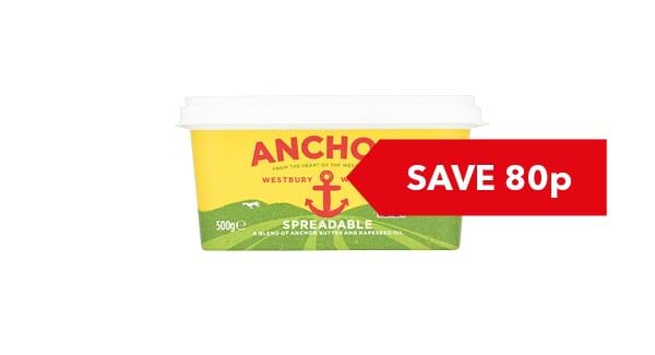 SAVE 80p | Anchor Lighter / Spreadable 500g