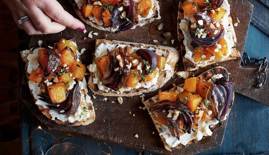Winter bruschetta