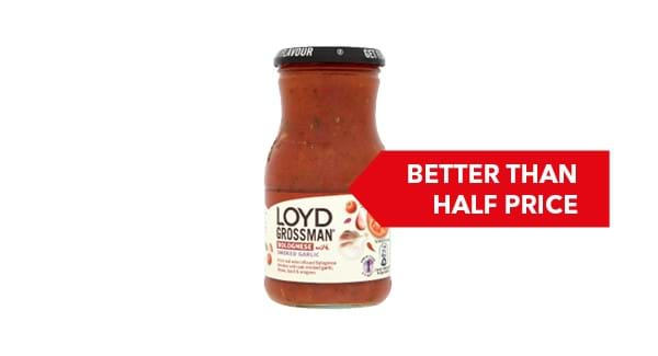 BETTER THAN HALF PRICE | Loyd Grossman Italian CookingSauces