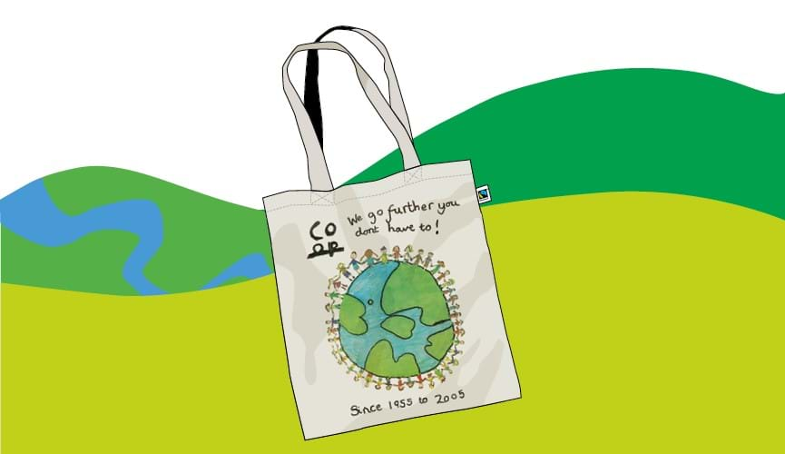 Co-op invites young islanders to 'Design a Fairtrade Bag'