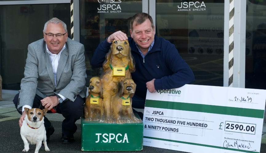 Co-op donates more than £2500 to JSPCA #SaveOurShelter campaign
