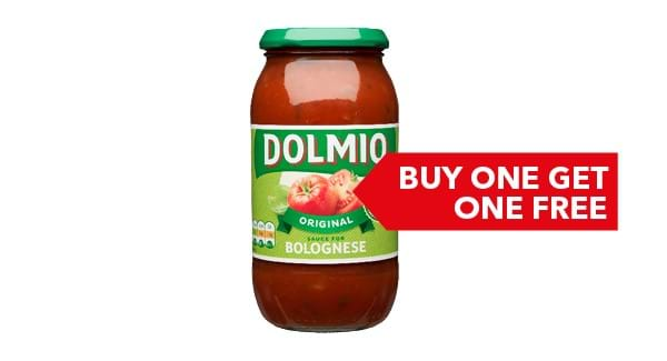 BUY ONE GET ONE FREE | Dolmio Sauces 470g / 500g