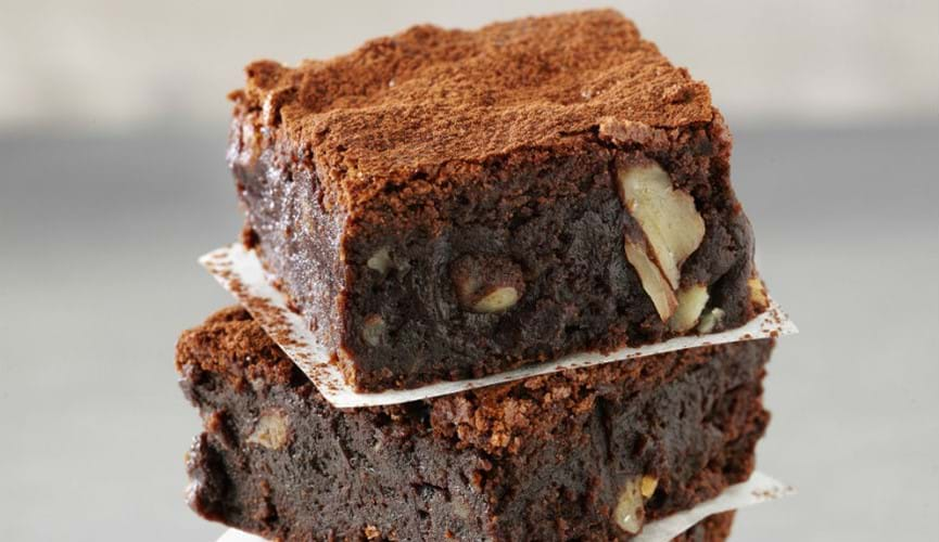 Fairtrade Chocolate Mocha Brownies