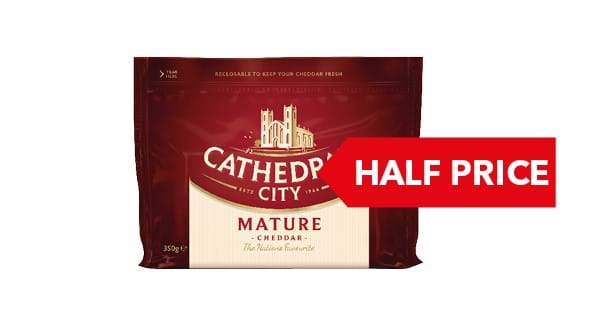 HALF PRICE | Cathedral City 300g / 350g