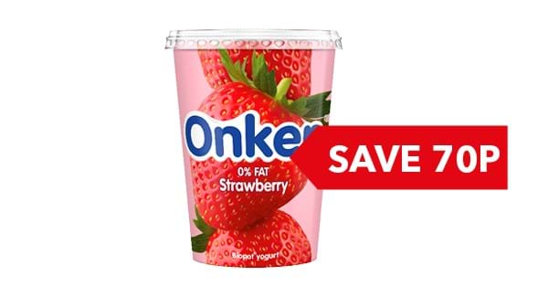 SAVE 70p | Onken Yogurt 450g