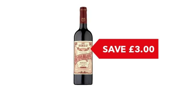 SAVE £3 | Corte Mayor Rioja Crianza 75cl