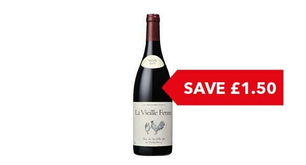 SAVE £1.50 | La Vieille Ferme 75cl