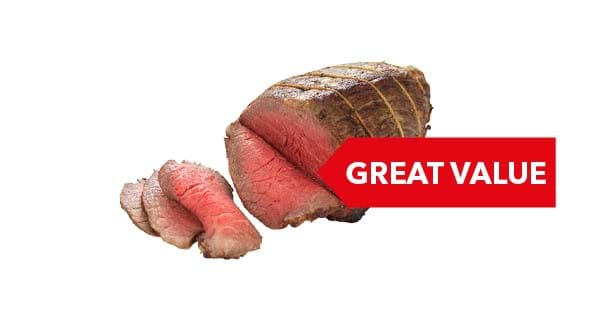 GREAT VALUE | Co-op Beef Roasting Joint per Kg