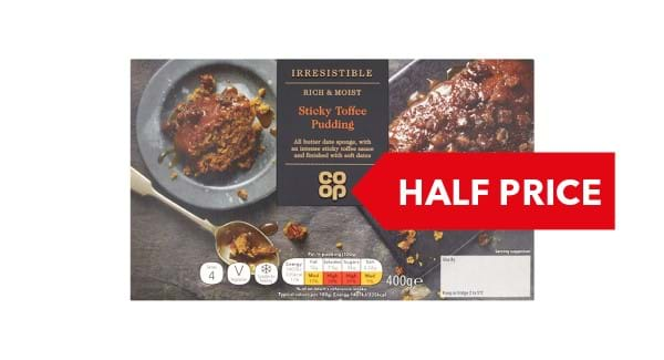 HALF PRICE | Irresistible Sticky Toffee Sponge Pudding 400g