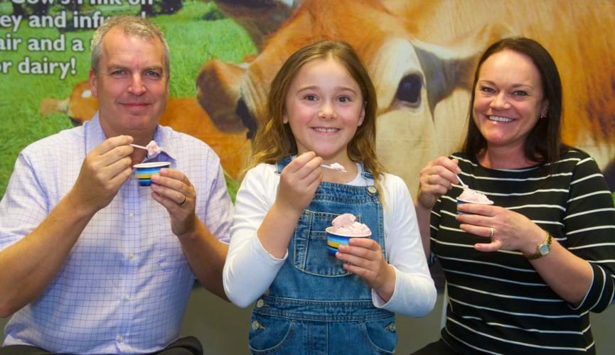 Winner of The Channel Islands Co-operative Society's ice cream competition is chosen