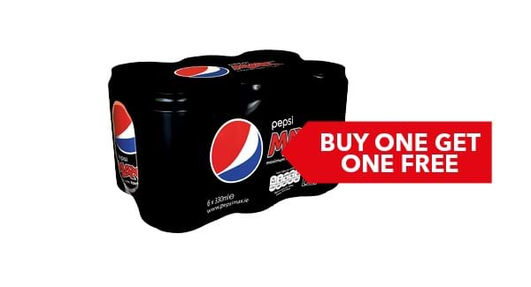 BUY ONE GET ONE FREE | Pepsi 6x330ml