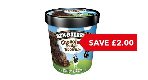 SAVE £2.00 | Ben & Jerry's 500ml