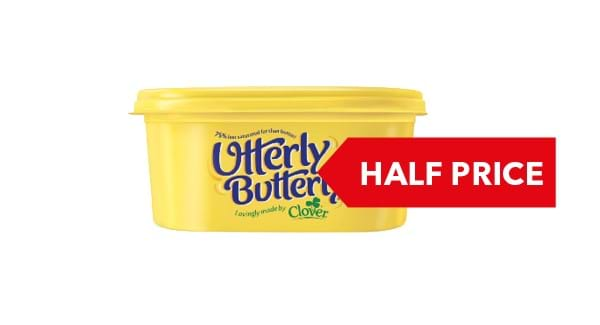 HALF PRICE | Utterly Butterly 500g